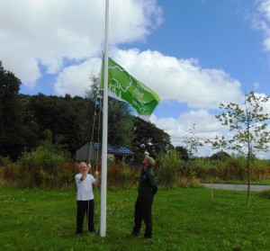 John Barlow Raising the Green Flag 2016